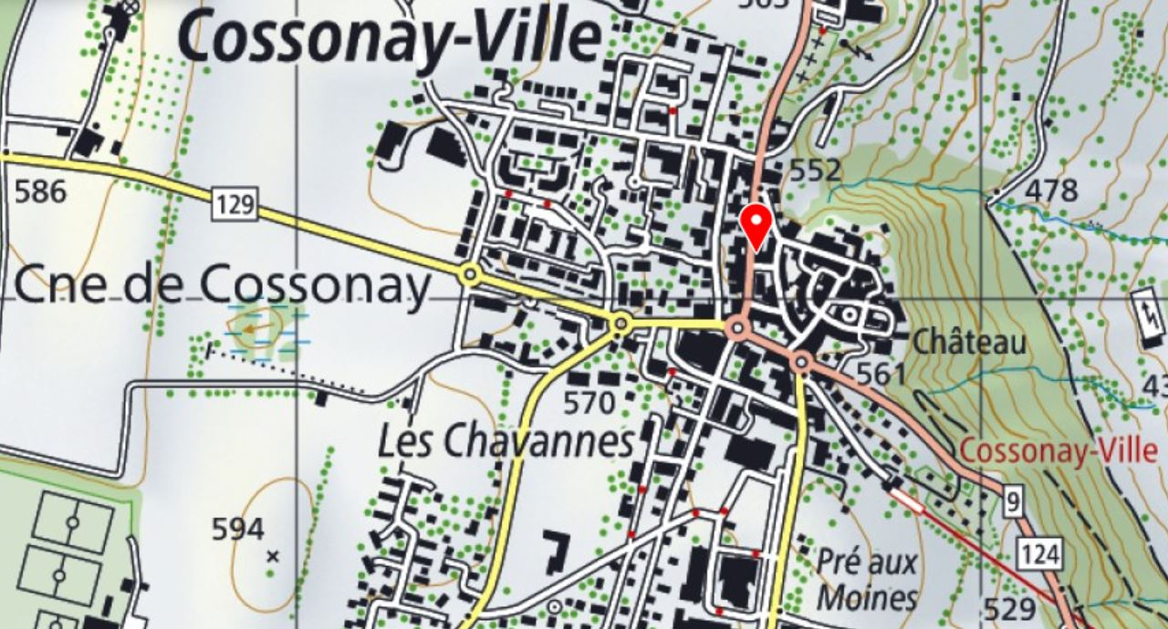 Cossonay-Ville